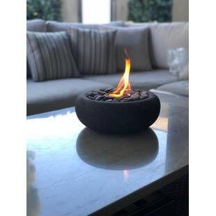 Anywhere Fireplace Metropolitan Bio Ethanol Tabletop Fireplace In