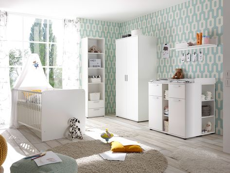Die Einzelelemente Der Babyzimmer Serie Bambino Sind Perfekt