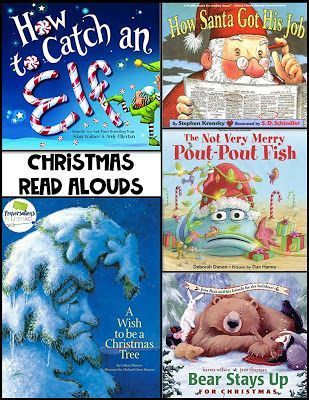 Christmas Picture Books For Read Aloud Time Read Aloud Activities Christmas Picture Books Christmas Read Aloud