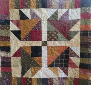Bear Claw Quilt Pattern Printable | Home » Bear's Paw Quilt ... : bear claw quilt pattern - Adamdwight.com