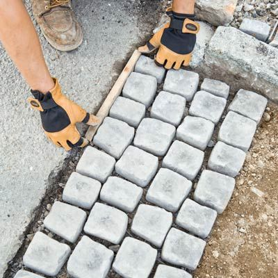 Cottage and vine our cobblestone sidewalk curb appeal pinterest cottage and vine our cobblestone sidewalk curb appeal pinterest sidewalk walkways and landscaping solutioingenieria Image collections