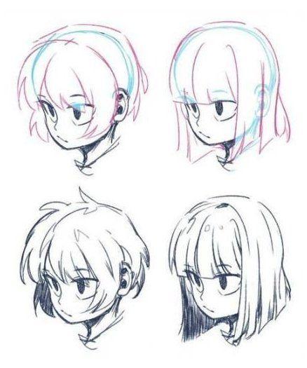 Drawing Hair Male Silver Hair Highlights Male Step Trendy 17 Trendy Hair Drawing Hair Male Silver In 2020 Cartoon Hair How To Draw Anime Hair Anime Boy Hair