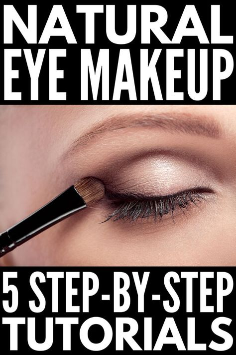 5 Step by Step Natural Eye Shadow Looks for All Eye Colours