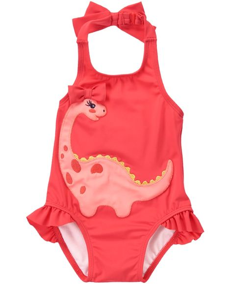Gymboree Baby Girls 1-Piece Unicorn Swimsuit