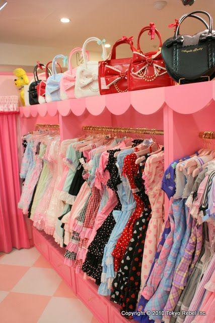 Princesses at heart. Teen Room Decor, Bedroom Decor, Mode Lolita, Kawaii Bedroom, Beautiful Closets, Cute Room Ideas, Apartment Hacks, Princess Room, Aesthetic Rooms