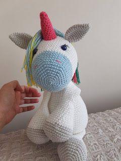Belleza ganchillo unicornio amigurumi patrón libre - Página 3 de 3 ...   320x240