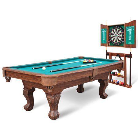 Eastpoint Sports 90 Westford Pool Table With Dartboard Cabinet Walmart Com Billiard Pool Table Pool Table Custom Pool Tables