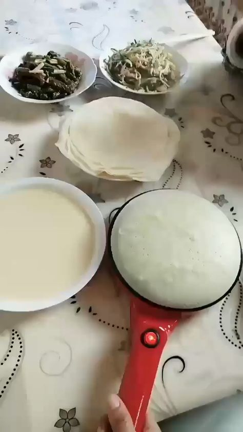 Do you Always feel hard to make a perfect crepe for breakfast? All you need is the Portable Crepe Maker. It can help you to make crepes in an easy way.  It is portable. You can flip the crepe on the plate easily. And making crepes in only 3 steps!