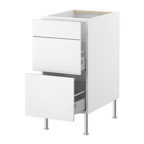 Faktum Meuble Pour Tri Dechets Ikea Tiroirs Avec Verin Pneumatique