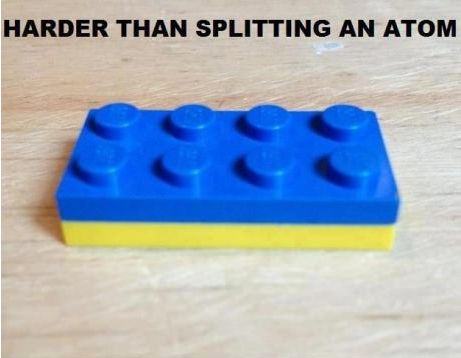 You'll never get those two apart.  From now on that's a yellow & blue Lego.