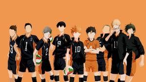 Haikyuu Karasuno Team By Vk For Da Win Haikyuu Wallpaper Hd Anime Wallpapers Anime Wallpaper 1920x1080