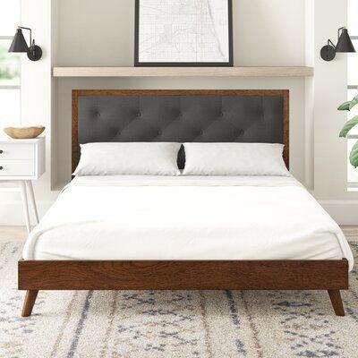 Koda Upholstered Platform Bed Allmodern Upholstered Platform Bed Upholstered Beds Platform Bed Do platform beds require box springs