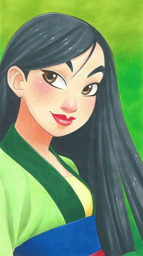 Manga-Style Disney Princesses by Chihiro Howe — GeekTyrant