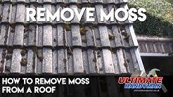 Best Way To Remove Moss From Roof Tiles In 2020 Roof Clay Roofs Roof Maintenance