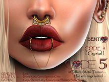 Code 5 Nose Piercing Crystal Nose Jewelry Nose Piercing Piercings