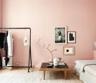 Schlafzimmer Trendfarbe Hortensie Schoner Wohnen Farbe In 2020 Best Bedroom Paint Colors Peach Living Rooms Room Colors