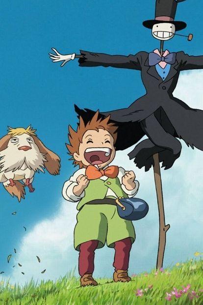 ジブリ好きなら必見 Iphone用壁紙まとめ 保存版 Naver まとめ Howls Moving Castle Art Howl S Moving Castle Ghibli Art