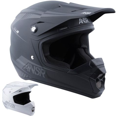 THOR MX Motocross Sector Knee Guards Black Kids
