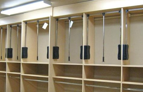 Pull Down Closet Rod Heavy Duty With Images Bedroom Organization Closet Closet Clothes Storage Closet Organization Accessories