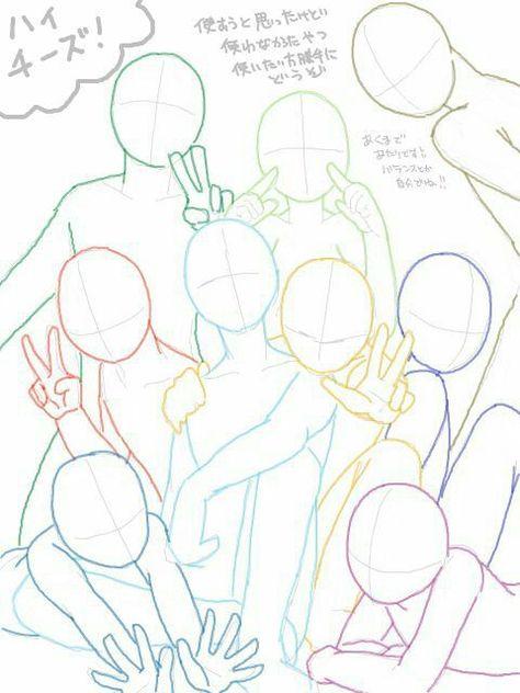 poses to draw models \ poses to draw ; poses to draw models ; poses to draw art reference ; poses to draw character design ; poses to draw female ; poses to draw your oc in ; poses to draw photography Drawing Templates, Drawing Tutorials, Drawing Tips, Painting Tutorials, Drawing Ideas, Drawing Body Poses, Anime Poses Reference, Hand Reference, Design Reference