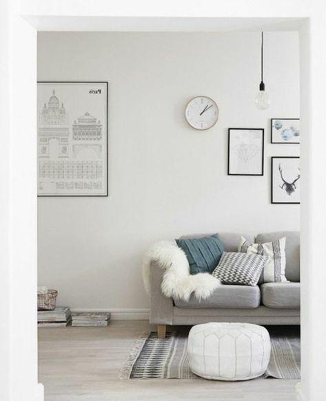 1001 Ideen Fur Wohnzimmer In Grau Weiss Zum Inspiriren Living Room Grey Living Room White White Lounge