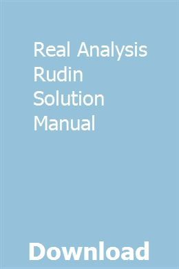 Real Analysis Rudin Solution Manual Envision Math Volkswagen Beetle Math Pages