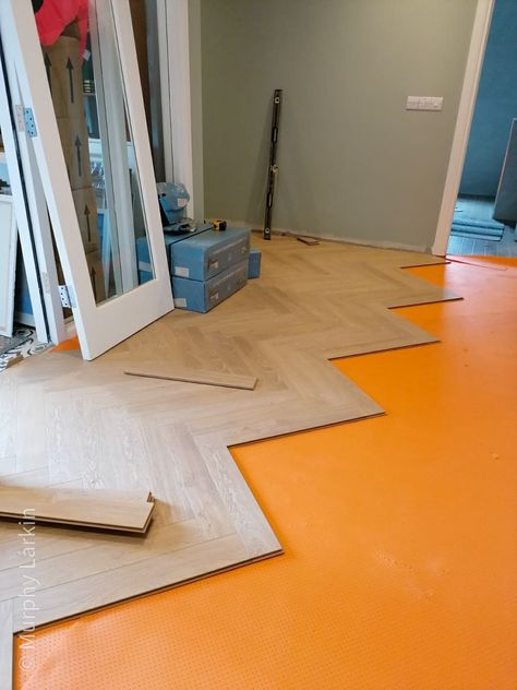Herringbone Flooring By Murphy Larkin In 2020 Herringbone Floor Flooring Prehung Doors