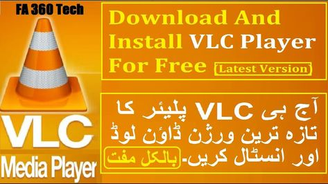 Download And Install VLC Media Player For Free 32 bit & 64 bit On Windows  in 2020 | Free, Installation, Media