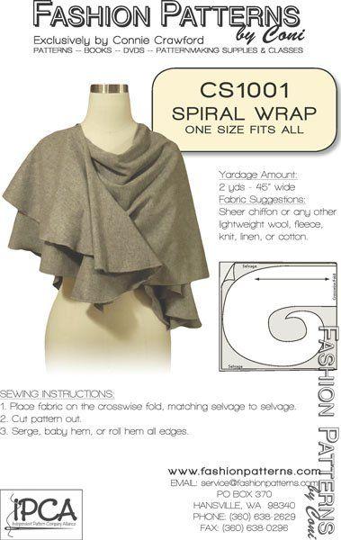 Cool idea for a wrap.