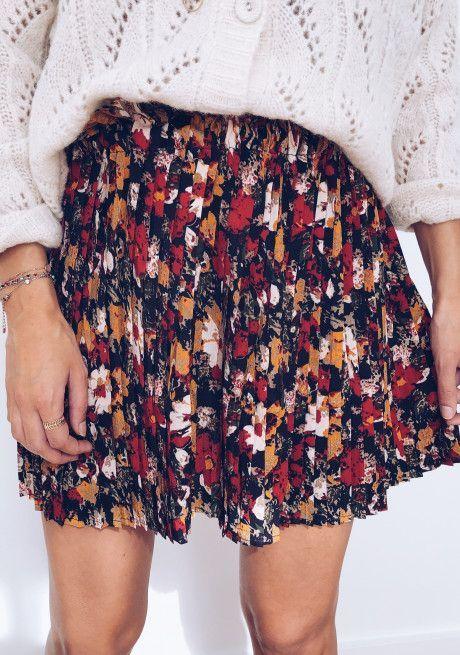 Jupe Madison A Fleurs Boho Skirt Fleurs Jupe Jupe Courte Jupe Cuir Jupe En Jean Jupe Longue Madison Skirt Fashion Skirt Fashion Clothes Mode Fashion