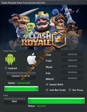 clash royale hack no downloading apps