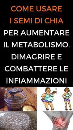 dieta per aumentare il metabolismo