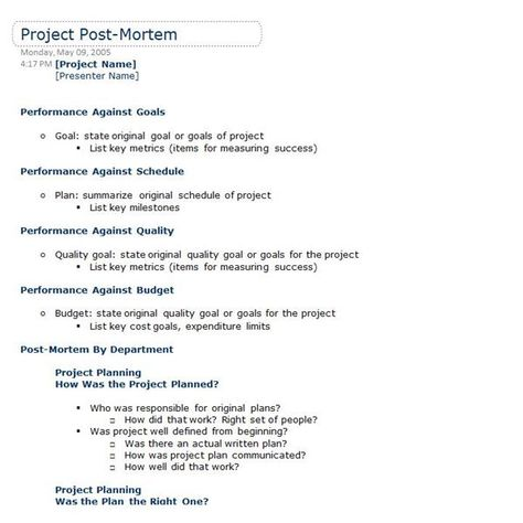 Post mortem project template zrom victorops guide to blameless post mortems friedricerecipe Images