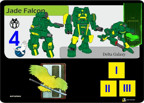 Clan Jade Falcon Delta Galaxy by factorymam on DeviantArt