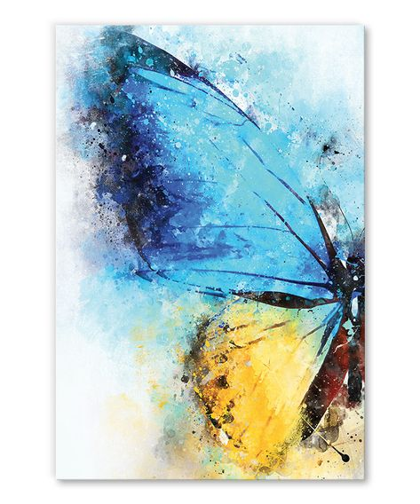 Tableau Deco Papillon Aquarelle En 2020 Tableaux Deco Animaux