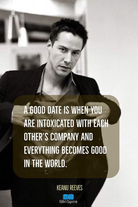 22 Keanu Reeves Quotes about Life and ♥️ - Winspira #keanureevesquotes #keanuwisdom #lovequotes #quotations