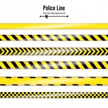 Vector De La Cinta Amarilla De La Policia Amarillo Cordon Escrito Png Y Vector Para Descargar Gratis Pngtree Vector Illustration Police Geometric Background