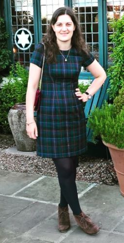 Katie's Megan dress - sewing pattern in Love at First Stitch