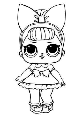 Fancy Glitter Lol Surprise Doll Malvorlage Prinzessin Malvorlage Einhorn Ausmalbilder
