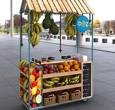 Facstore Carrinho Dez Sapore Projeto De Lanchonete De Sucos Expositores De Frutas Carrinho Que Vende Doces