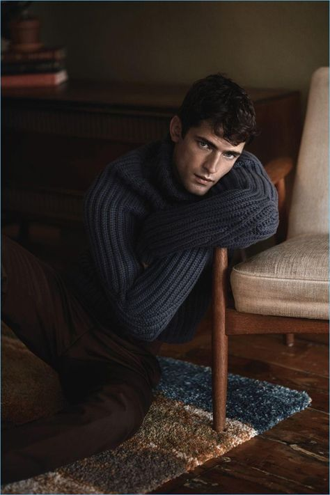 After flying business class with GQ Germany, model Sean O'Pry retreats indoors. The American model appears in a fall story for GQ Style Taiwan. Sean works with photographer Greg Swales and stylist Matthew Edelstein for the occasion. Shown in top form, Sean wears fashions from Calvin Klein, Prada, Gucci, and more.