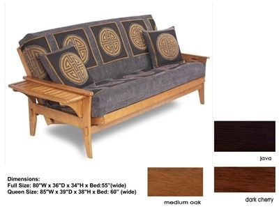Full Size Santa Cruz Futon Bed Package By Lifestyle Solutions Futonmattressrepurpose