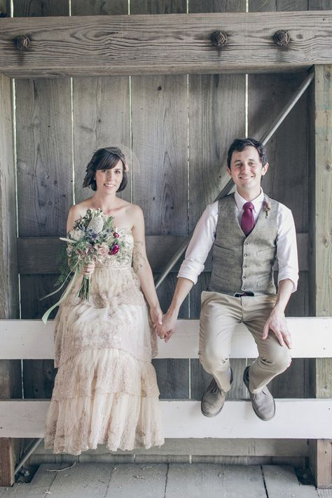 emily + duncan | Rosecliff Gown from @BHLDN | gather west photography | #BHLDNbride