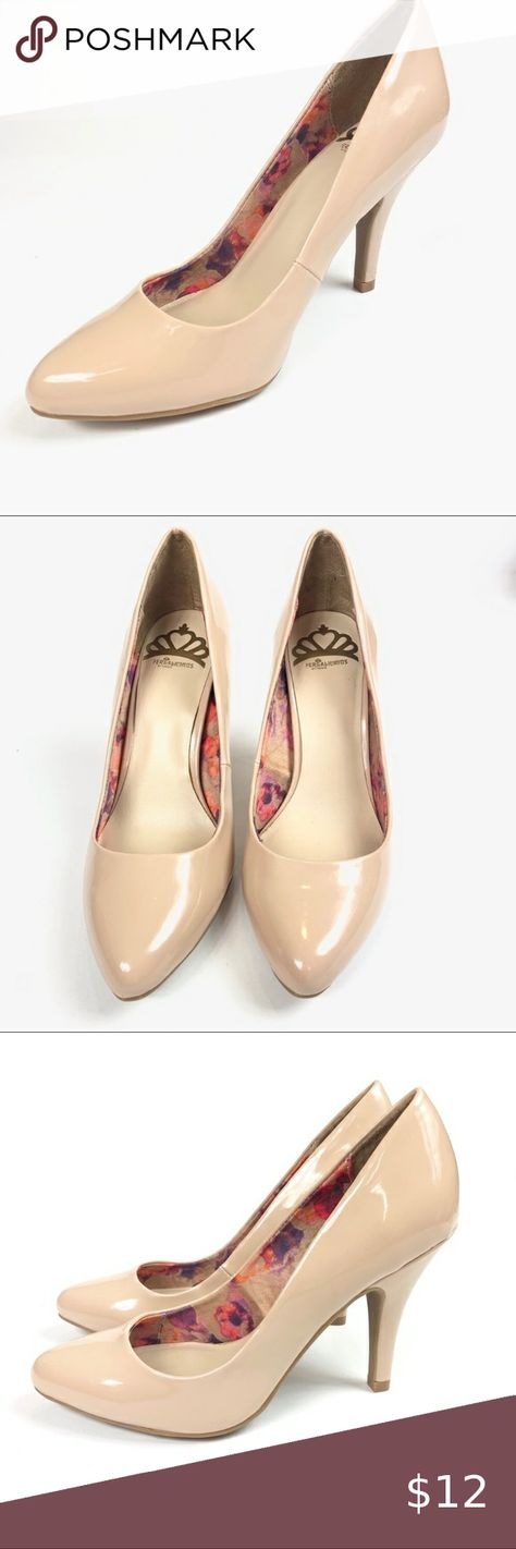 Fergalicious High Heel Pumps Nude Condition/Damages Good 2 scratches to the side right of one heel Bottoms look new Soles look great Size Heel height Fergalicious Shoes Heels