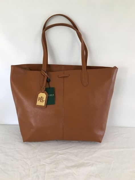 ... shoulder handbag ralphlauren totesshoppers 3f34e b73d5 real lauren  ralph lauren crawley leather unlined tote bag laurenbyralphlauren  totesshoppers e6cc6 ... d36fd103d8a22