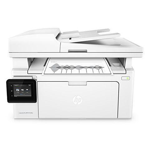Hp Laserjet Pro M130fw All In One Wireless Laser Printer Amazon Dash Replenishment Ready G3q60a Replaces Hp M12 Laser Printer Multifunction Printer Printer