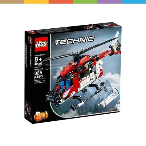 Rettungshubschrauber 42092 In 2020 Lego Technic Lego Technic Sets Hubschrauber
