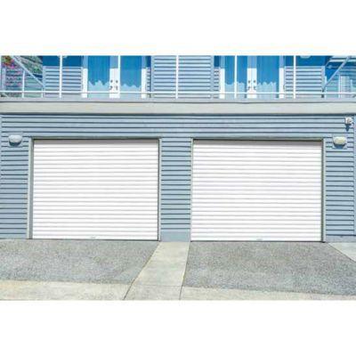 Porte De Garage Enroulable Protecta Opale Blanche L 240 X H 200 Cm Pre Montee En 2020 Porte Garage Garage Et Castorama