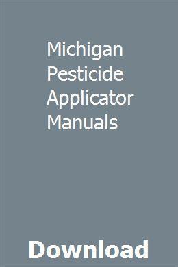 National pesticide application certification core manualcore.