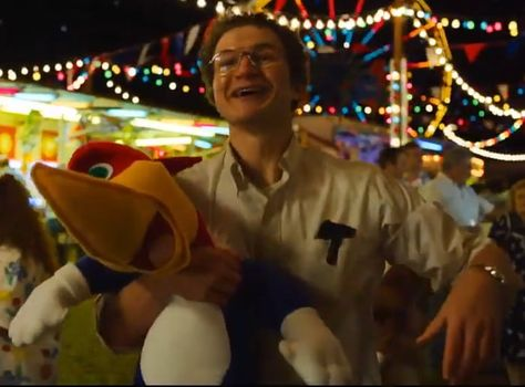 The happiest guy in Stranger Things....